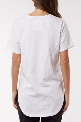 Foxwood Mackenzie SS Tee - White | Shop Foxwood Wallace & Gibbs NZ