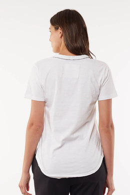 Foxwood Summer Pocket Tee - White | Shop Foxwood Wallace & Gibbs NZ