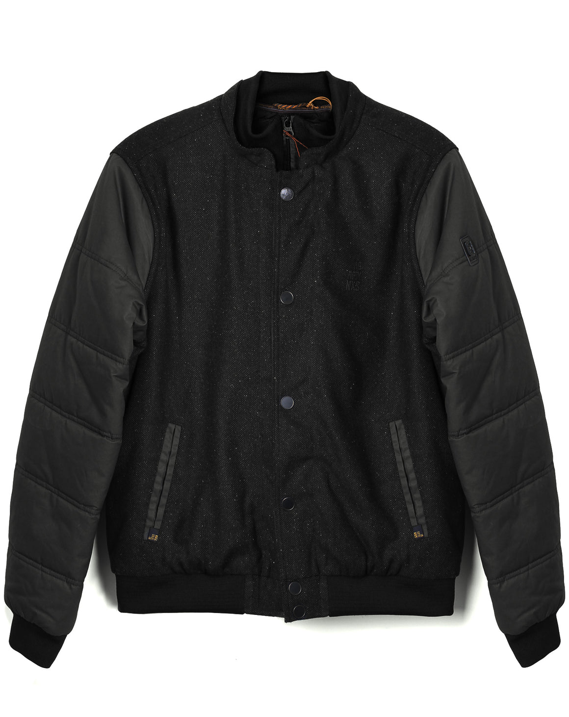 Mens Wool Jacket - Black