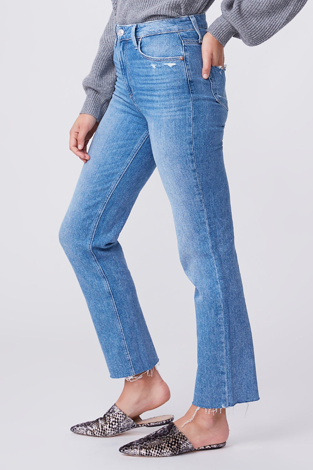 Sarah Straight Raw Hem Cowgirl | Buy Paige Jeans online NZ Free Shipping