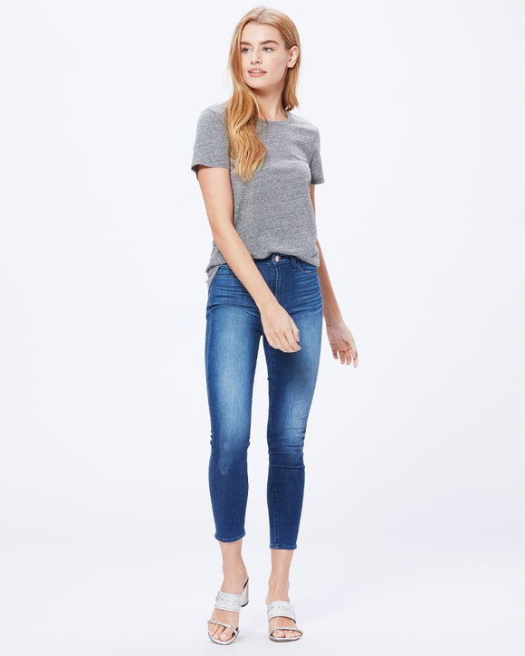 Paige Margot Crop - Stockholm | Buy Paige Jeans at Wallace and Gibbs