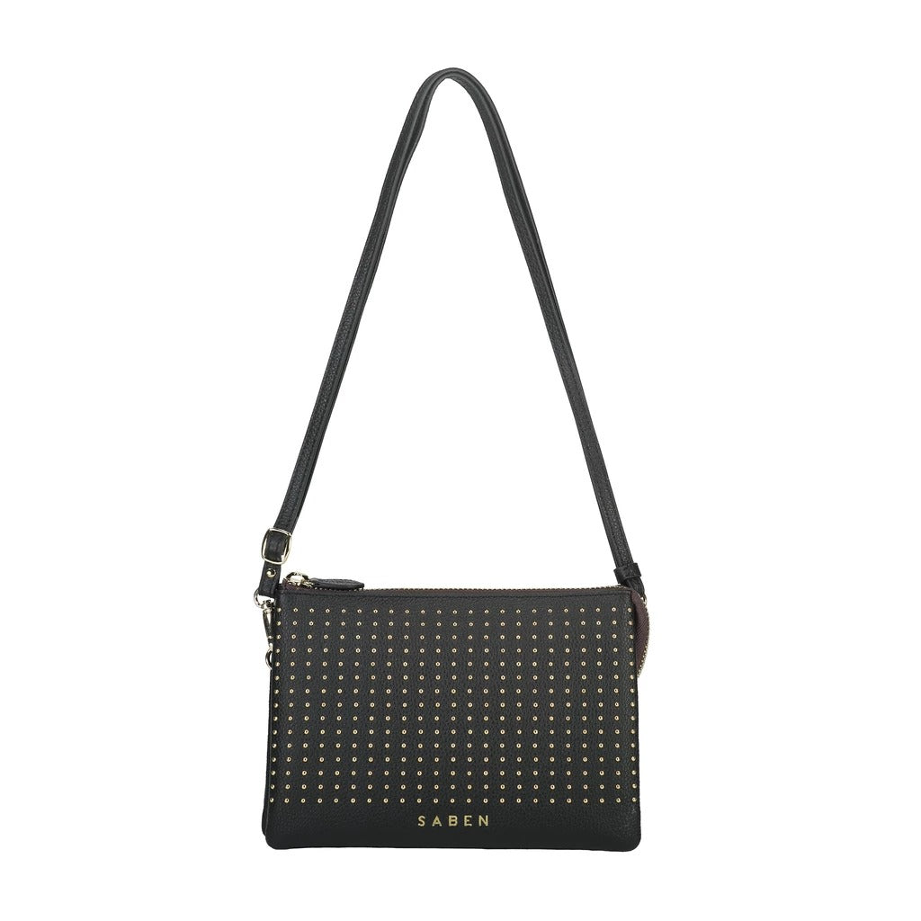 Tilly's Big Sis - Black Studs | Shop Saben at Wallace & Gibbs NZ