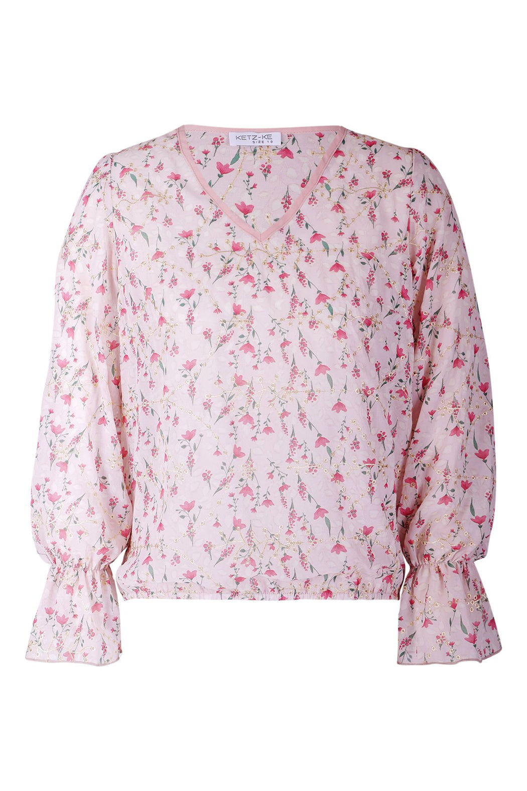 Ketz-ke Chapter Top - Pink | Shop Ketz-ke at Wallace & Gibbs NZ