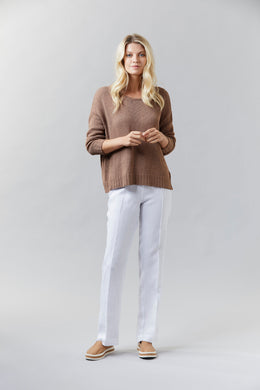 Visage Wide Cropped Jumper