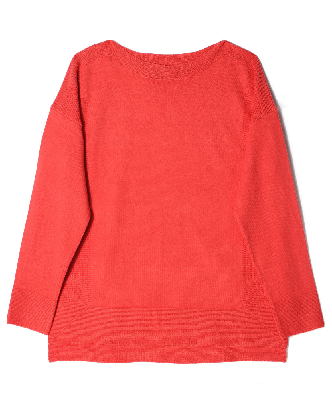 Drop Shoulder Sweater - Alpine Rose