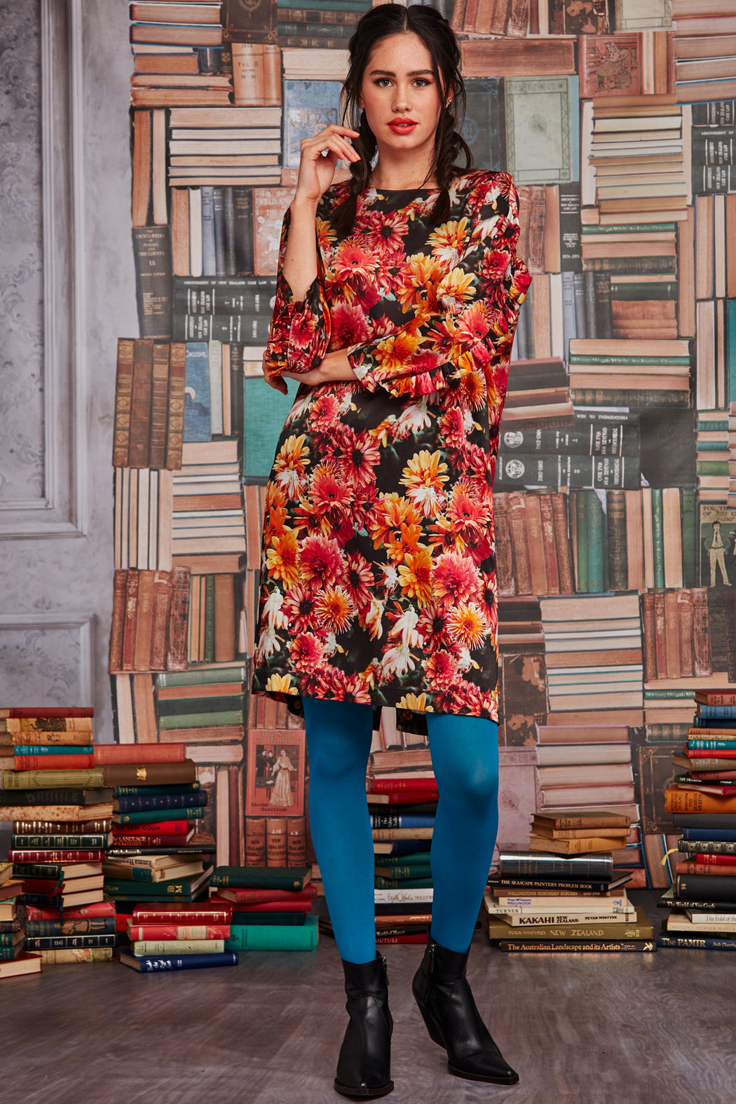 Curate Shift Game Dress Flowers | Shop Curate at Wallace & Gibbs NZ