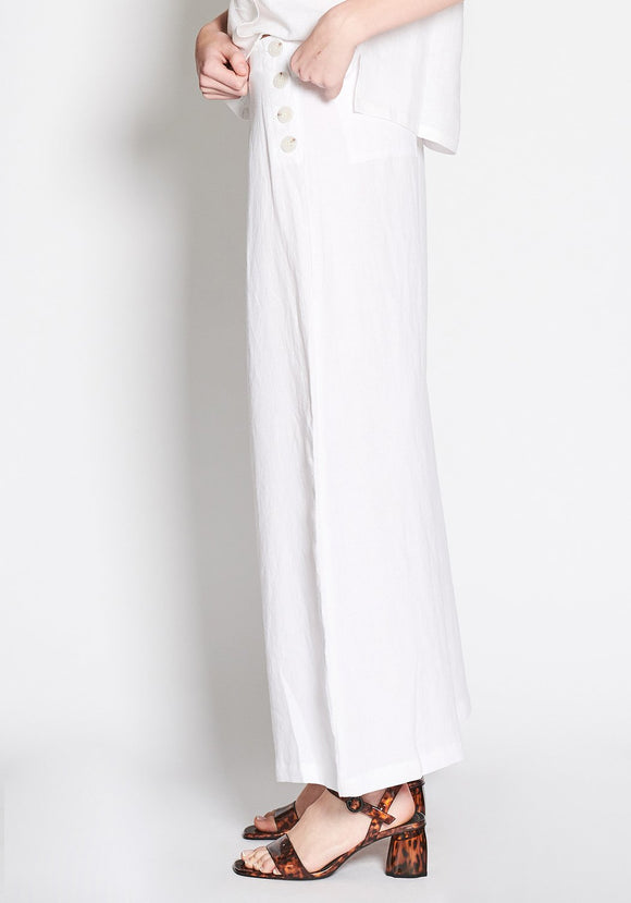 Nevada Pant - White | Shop POL at Wallace&Gibbs in Arrowtown, NZ