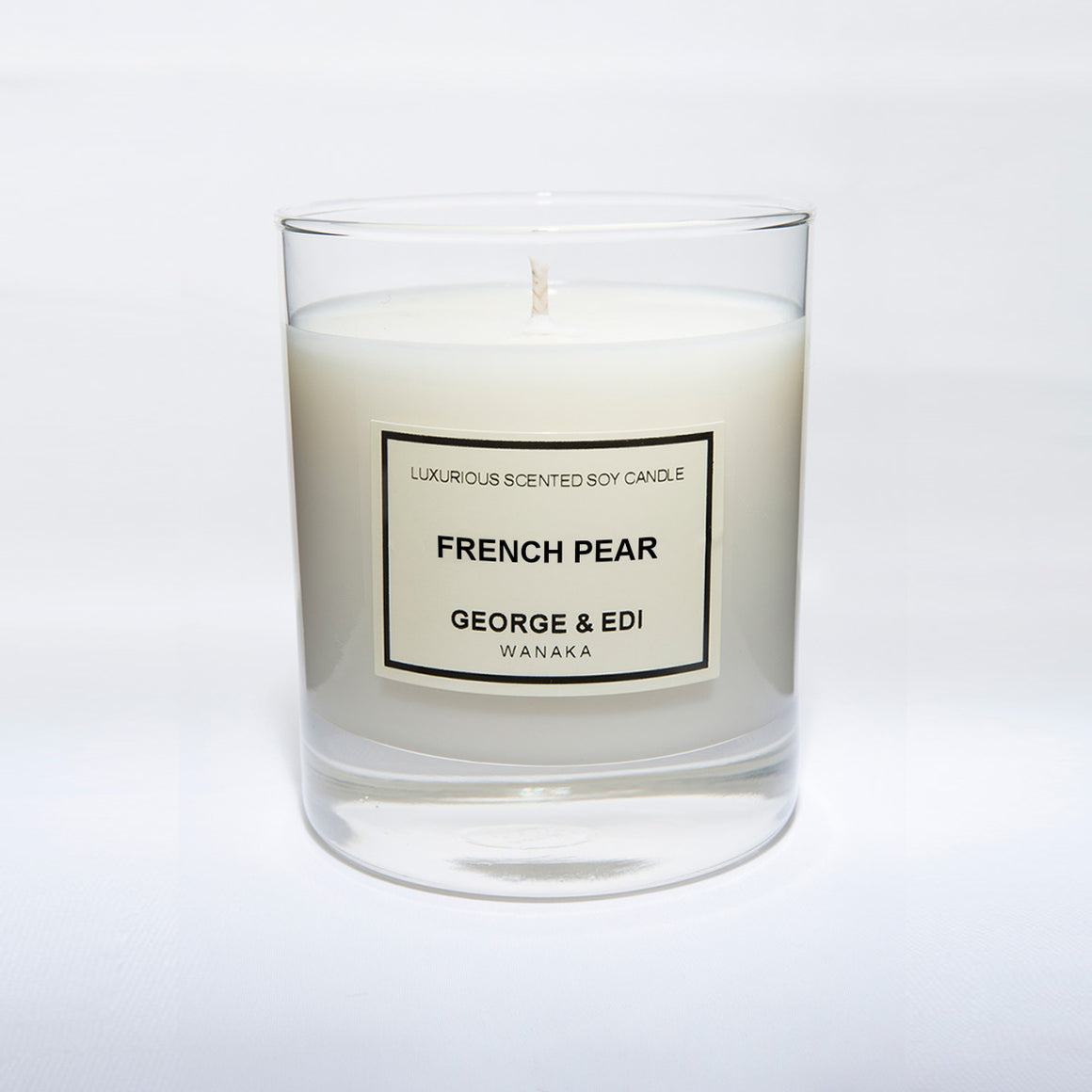 Candle - French Pear | Shop George & Edi in store at Wallace and Gibbs