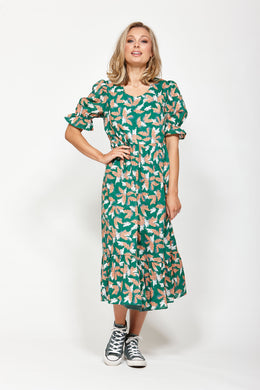 PRE-ORDER - Ketz-ke Fateful Dress - Green