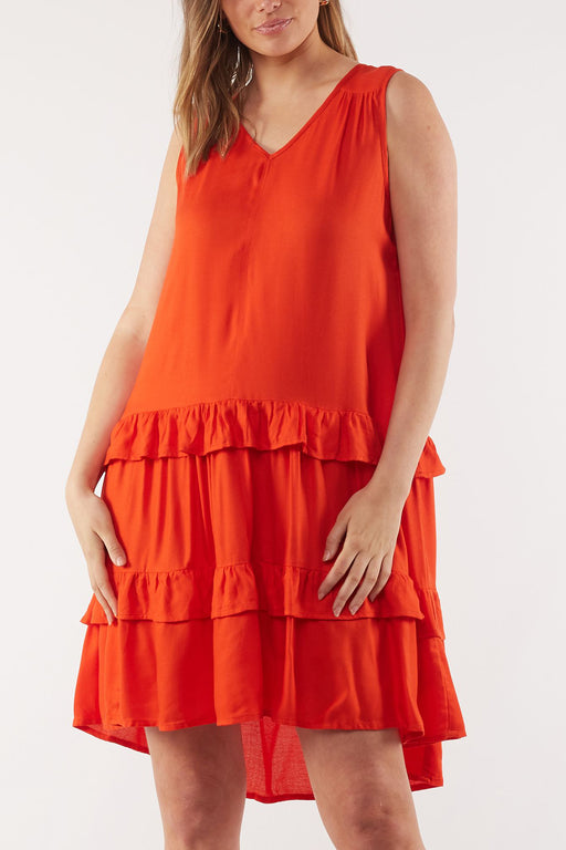 Foxwood Sawyer Dress - Red | Shop Foxwood Wallace & Gibbs NZ