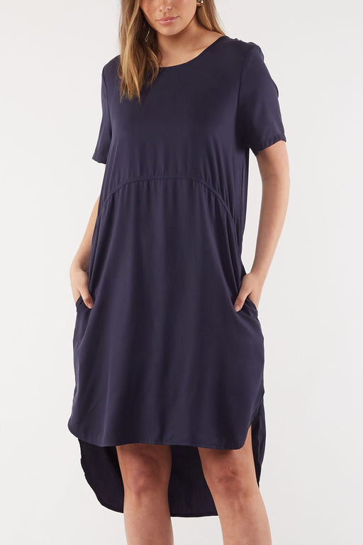 Foxwood Lola Dress - Navy | Shop Foxwood Wallace & Gibbs NZ
