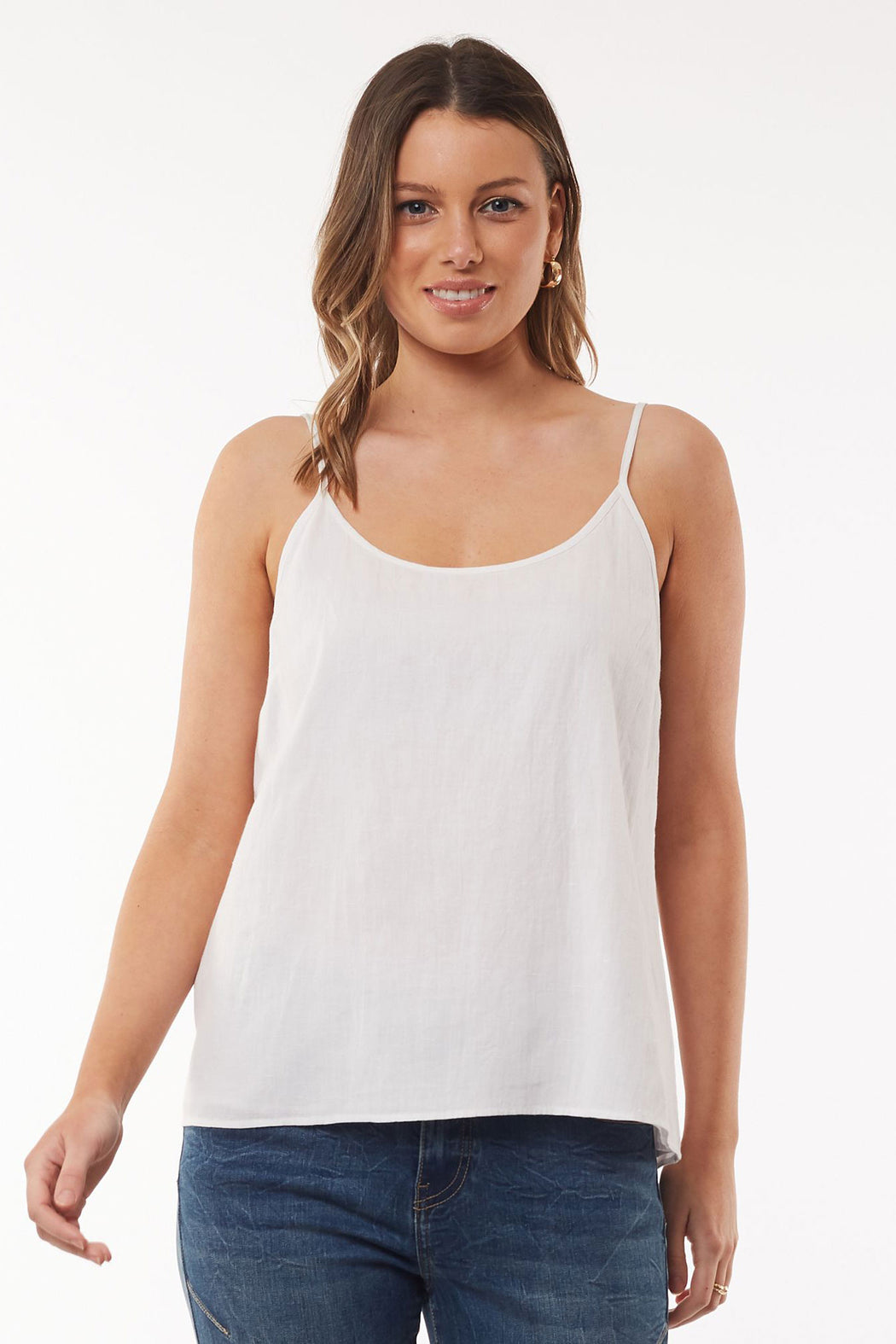 Foxwood Bea Cami - White | Shop Foxwood Wallace & Gibbs NZ
