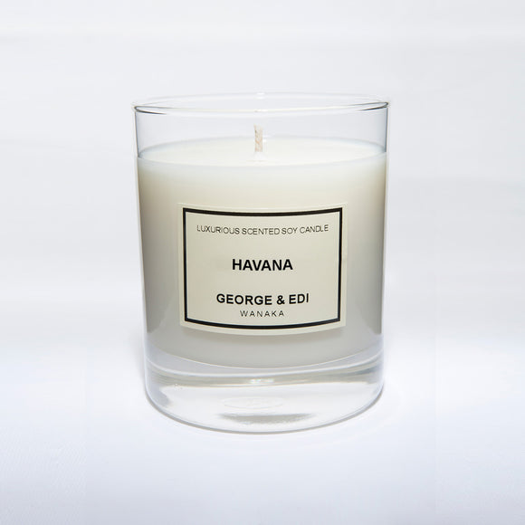 Candle - Havana | Shop George & Edi at Wallace and Gibbs