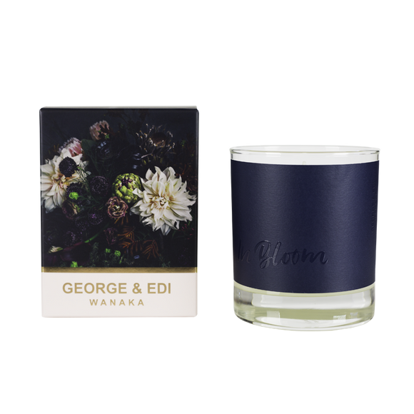 Dark Side Candle Boxed In Bloom | Shop George & Edi Wallace and Gibbs