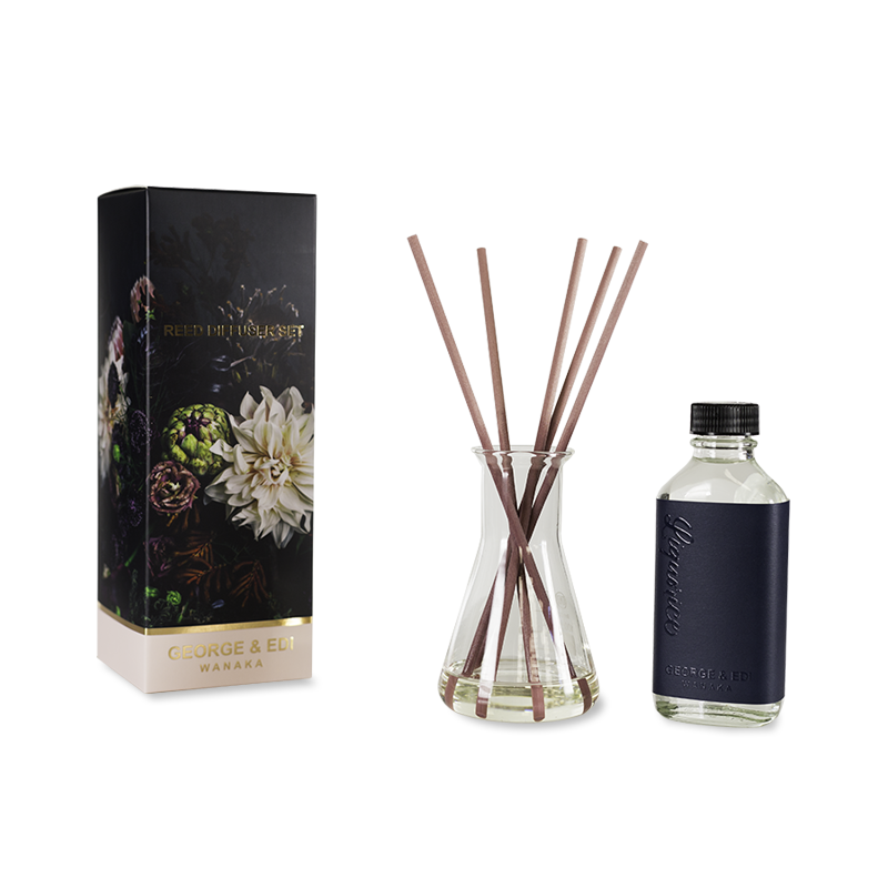 Dark Side Diffuser Set Liquorice | Shop George & Edi Wallace and Gibbs