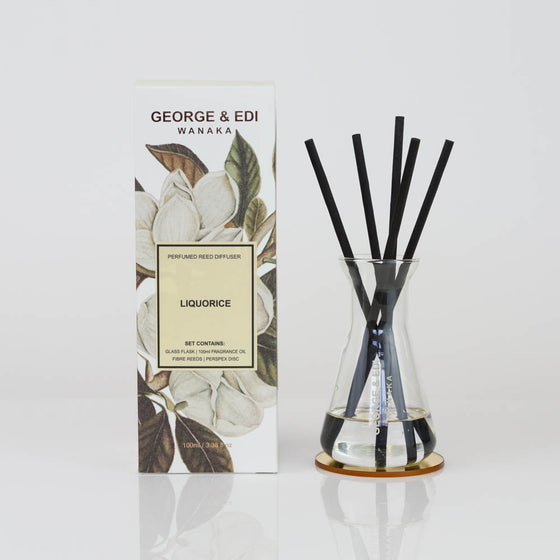Diffuser Set - Liquorice | Shop George & Edi at Wallace&Gibbs in Arrowtown, NZ