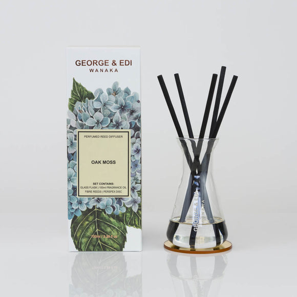 Diffuser Set - Oak Moss | Shop George & Edi at Wallace&Gibbs in Arrowtown, NZ