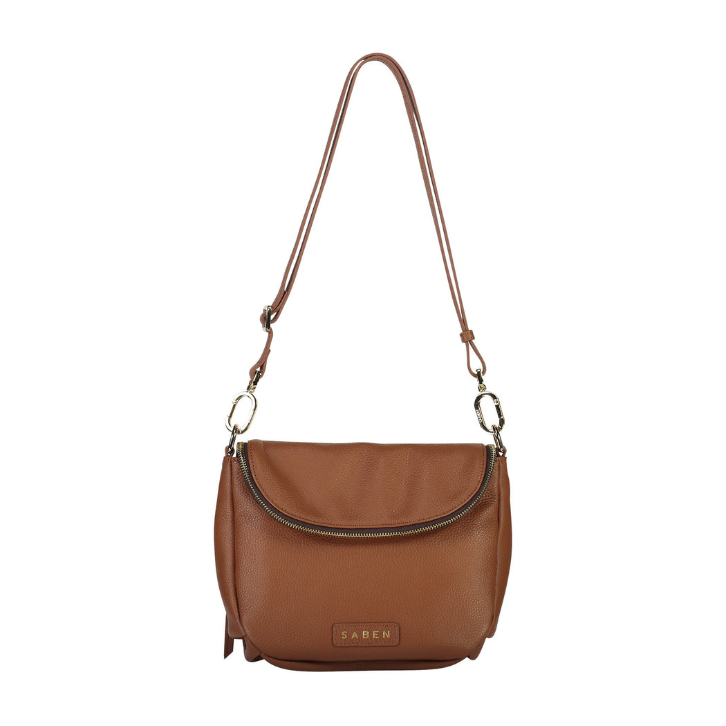 Fifi Crossbody - Tan | Shop Saben at Wallace & Gibbs NZ