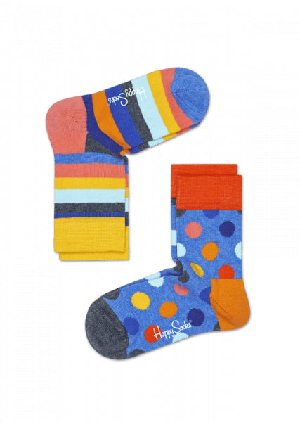 Kids 2-Pack Big Dots Sock 6003