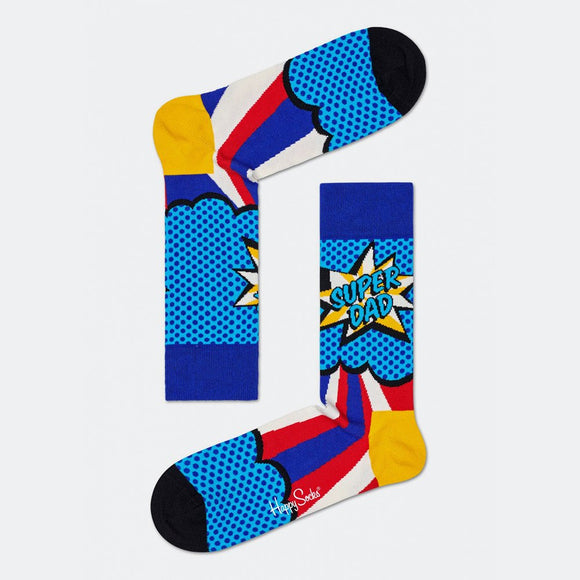 Super Dad Sock | Happy Socks | Shop at Wallace and Gibbs in NZ
