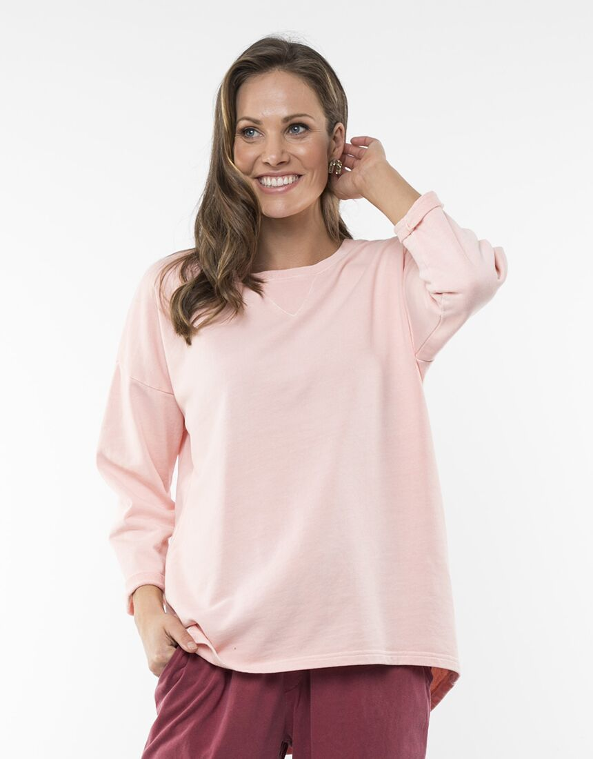 Elm Alice Crew Pink | Shop Elm at Wallace & Gibbs NZ