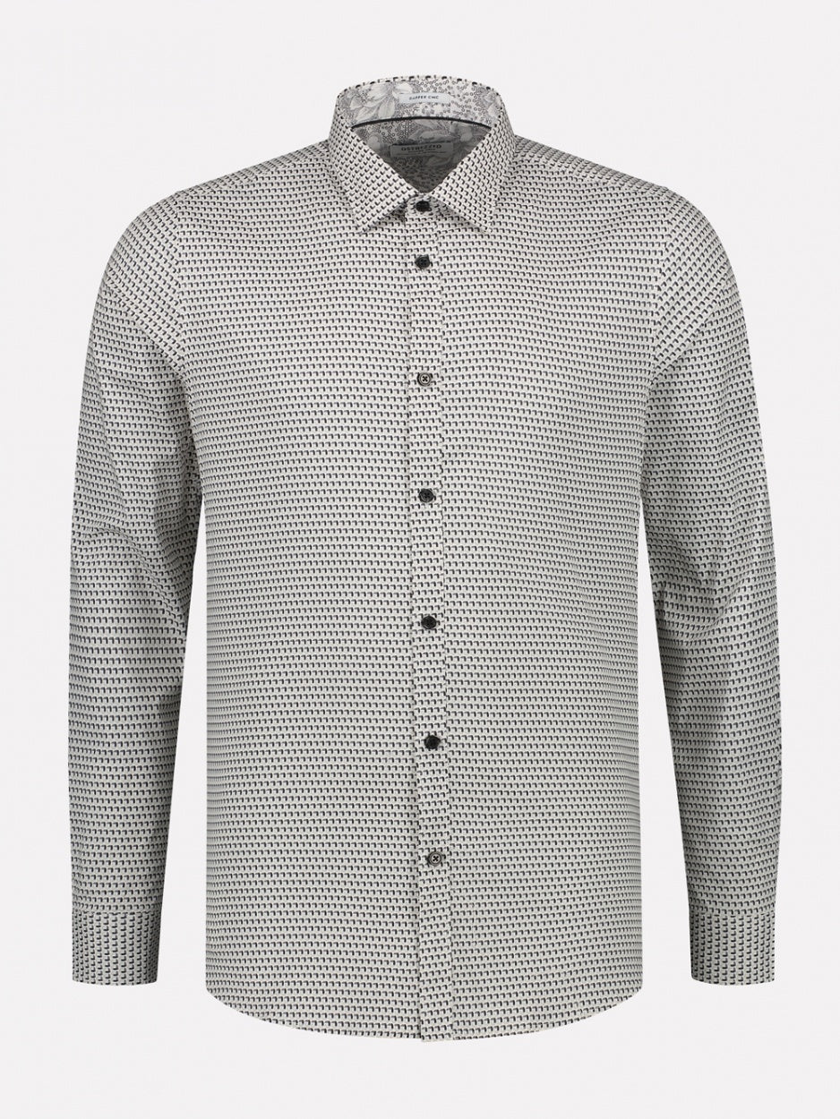 Mens L/S Shirt - Black | Shop Dstrezzed at Wallace and Gibbs