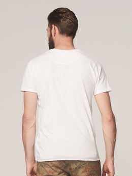 Mens Stewart V Neck Tshirt | Shop Dstrezzed at Wallace and Gibbs