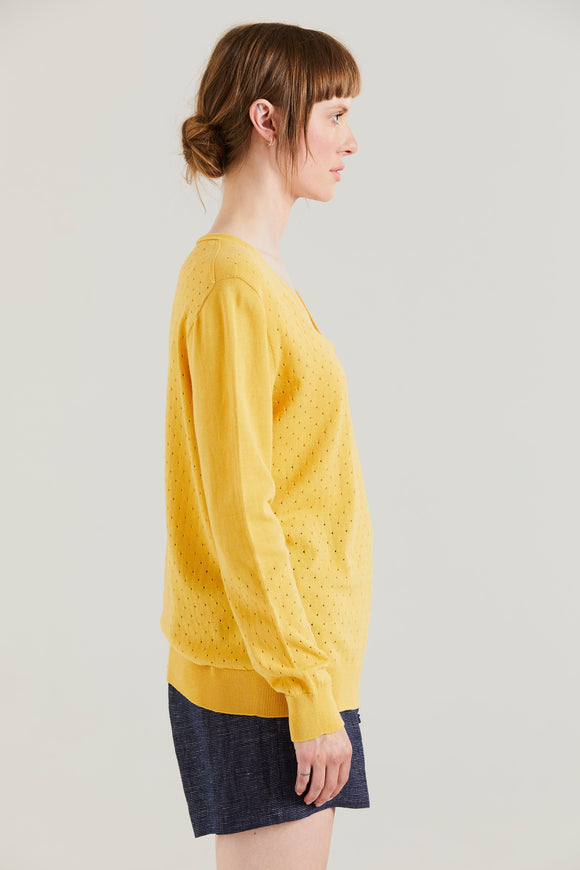 Standard Issue Seed V Slouchy Sweater - more colours available