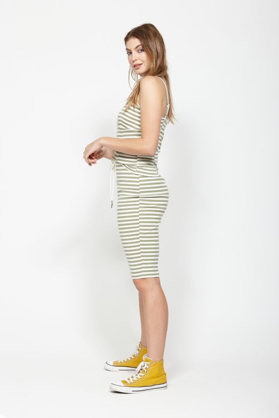 Ketz-ke Salute Skirt - Khaki | Shop Ketz-ke at Wallace & Gibbs NZ