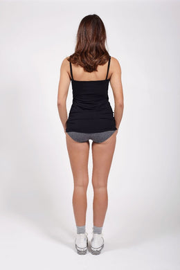Ketz-ke Shoestring Singlet - Black | Shop Ketz-ke at Wallace & Gibbs NZ
