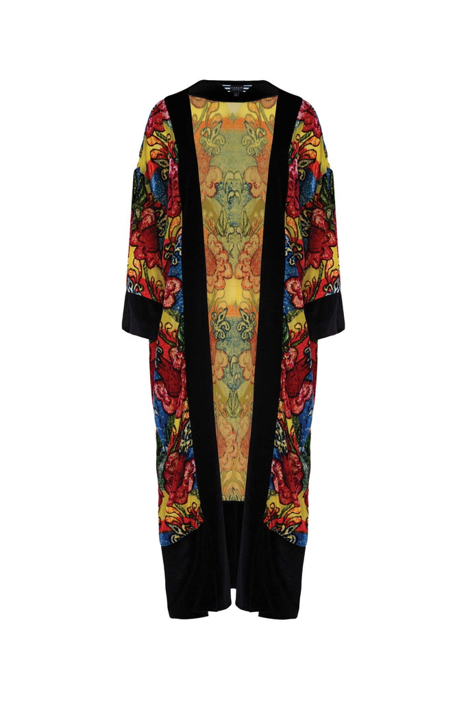 Curate The Duster Woman Kimono - Floral
