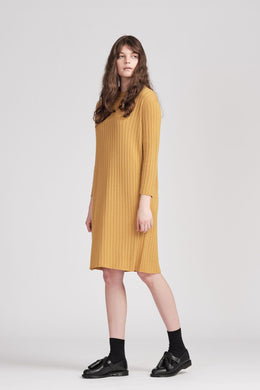 From Bridget Dress Honey | Shop FROM online | NZ Made knitwear