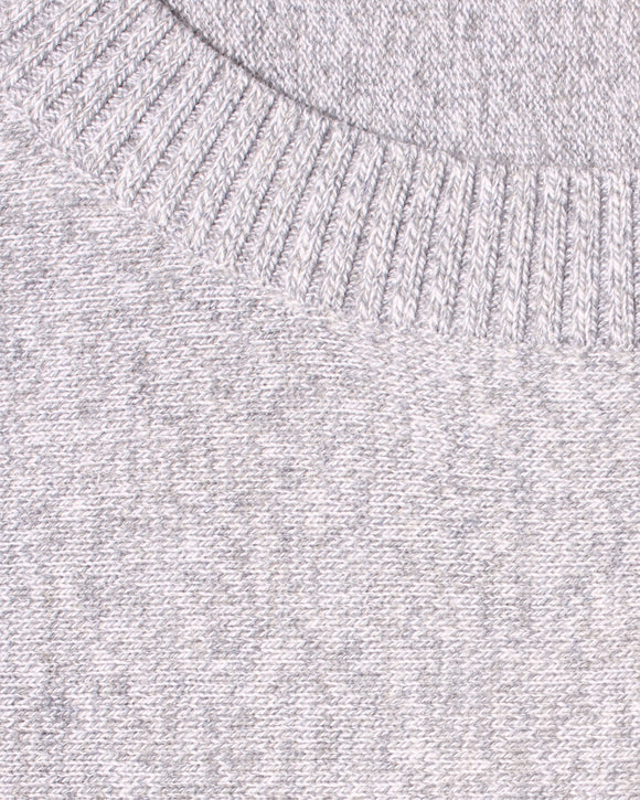 Crew Neck Sweater - Grey Marle