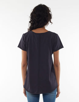 Elm Fundamental Vee Tee | Shop Elm at Wallace & Gibbs NZ