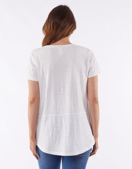Elm Star Burst Tee - White | Shop Elm at Wallace & Gibbs NZ