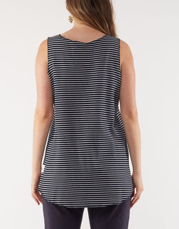 Elm Lottie Layer Tank - Navy | Shop Elm at Wallace & Gibbs NZ