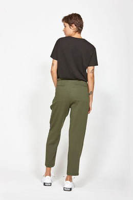 Ketz-ke Aspire Pant - Dark Khaki | Shop Ketz-ke at Wallace & Gibbs NZ