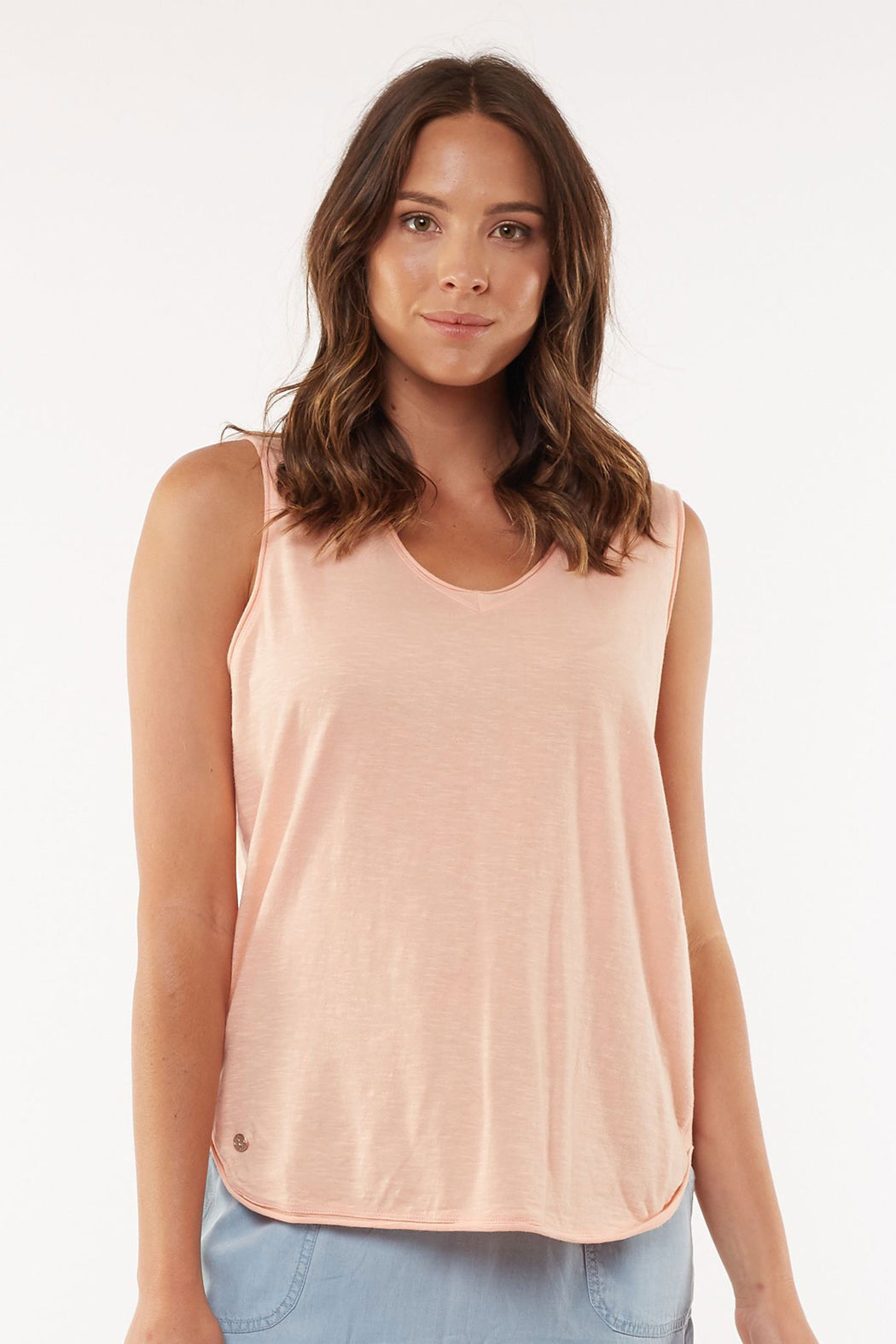 Foxwood Balthazar Tank - Melon | Shop Foxwood Wallace & Gibbs NZ
