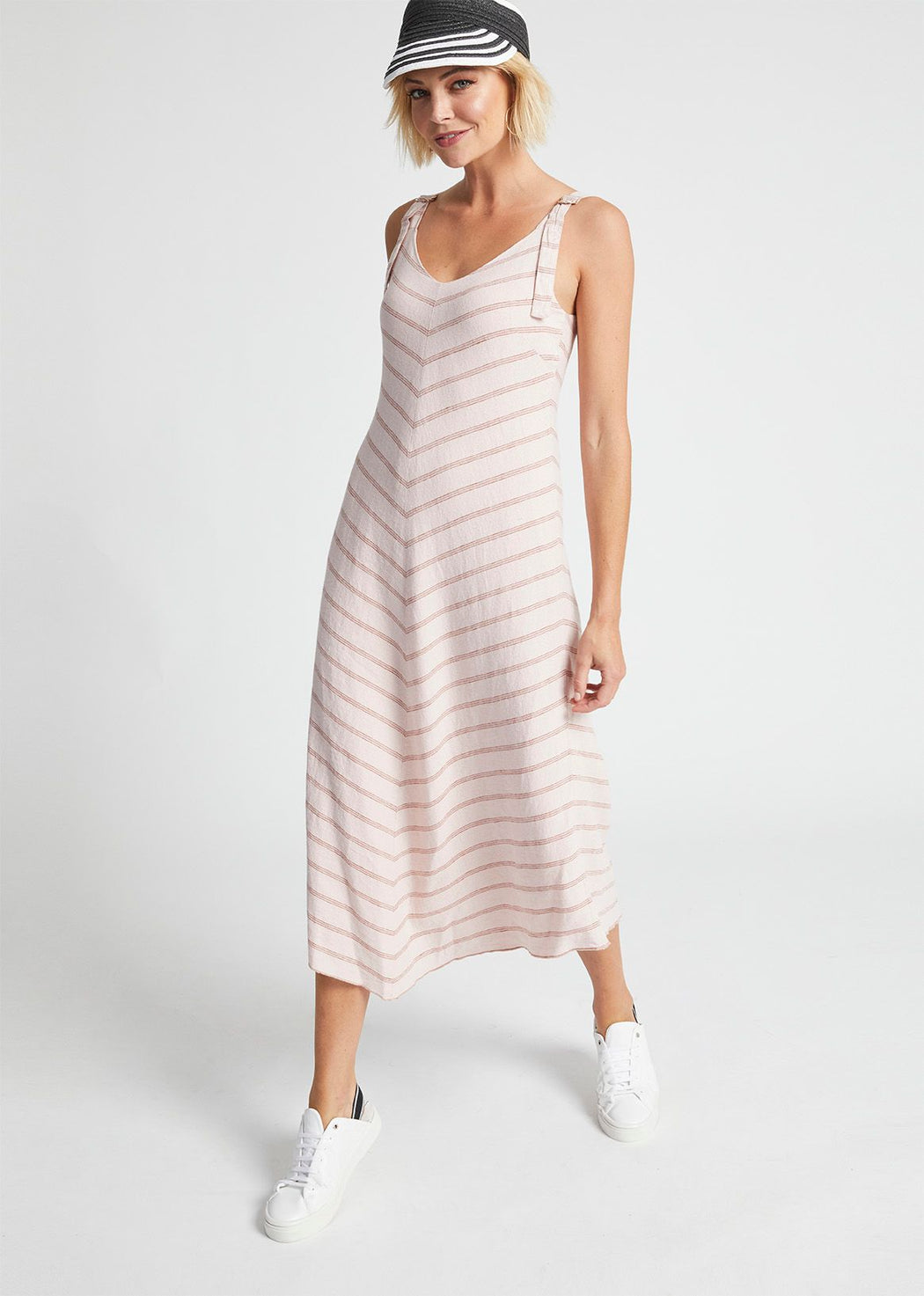 Madly Sweetly Fine Linen Sun Dress | Shop at Wallace and Gibbs NZ