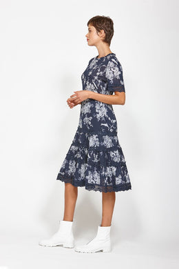 Ketz-ke Dreamboat Dress - Navy | Shop Ketz-ke at Wallace & Gibbs NZ