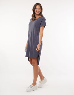 Foxwood Bayley Dress - Navy | Shop Foxwood Wallace & Gibbs NZ
