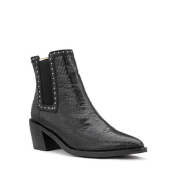 Rider Boot - Black Snake | Shop Chaos & Harmony at Wallace and Gibbs