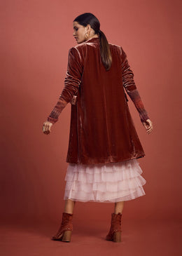 Loobies Story Athena Coat - Fired Brick | Shop at Wallace and Gibbs NZ