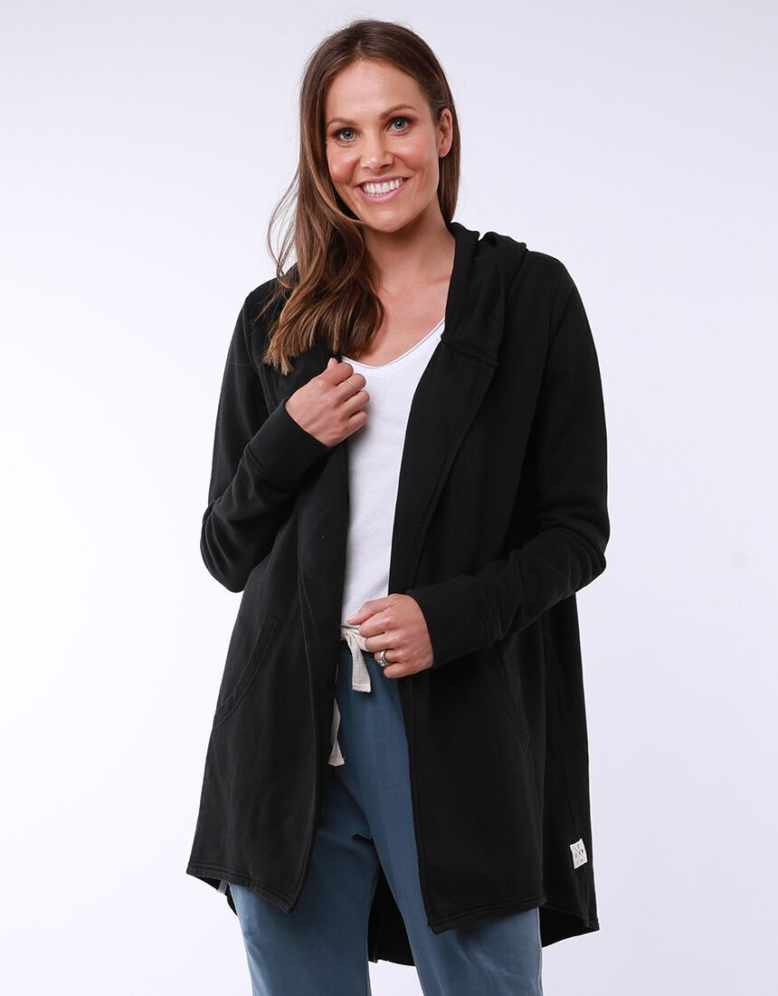 Elm Composure Hooded Cardi | Shop Elm at Wallace & Gibbs NZ