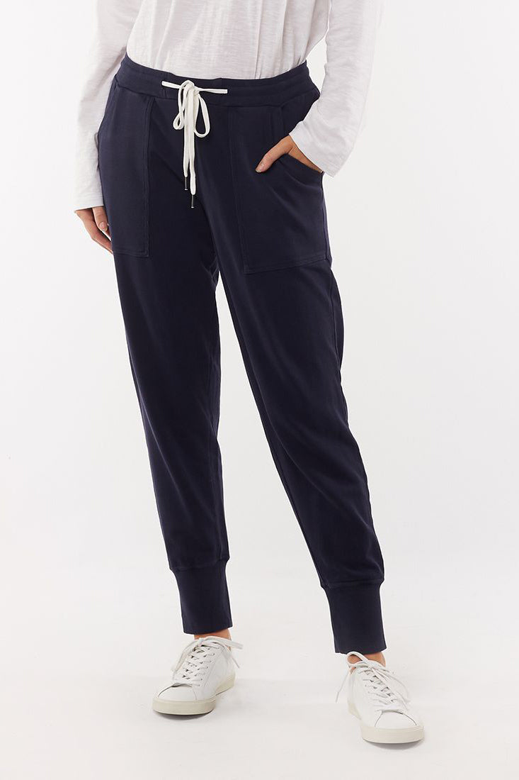 Foxwood Vienna Pant - Navy | Shop Foxwood Wallace & Gibbs NZ