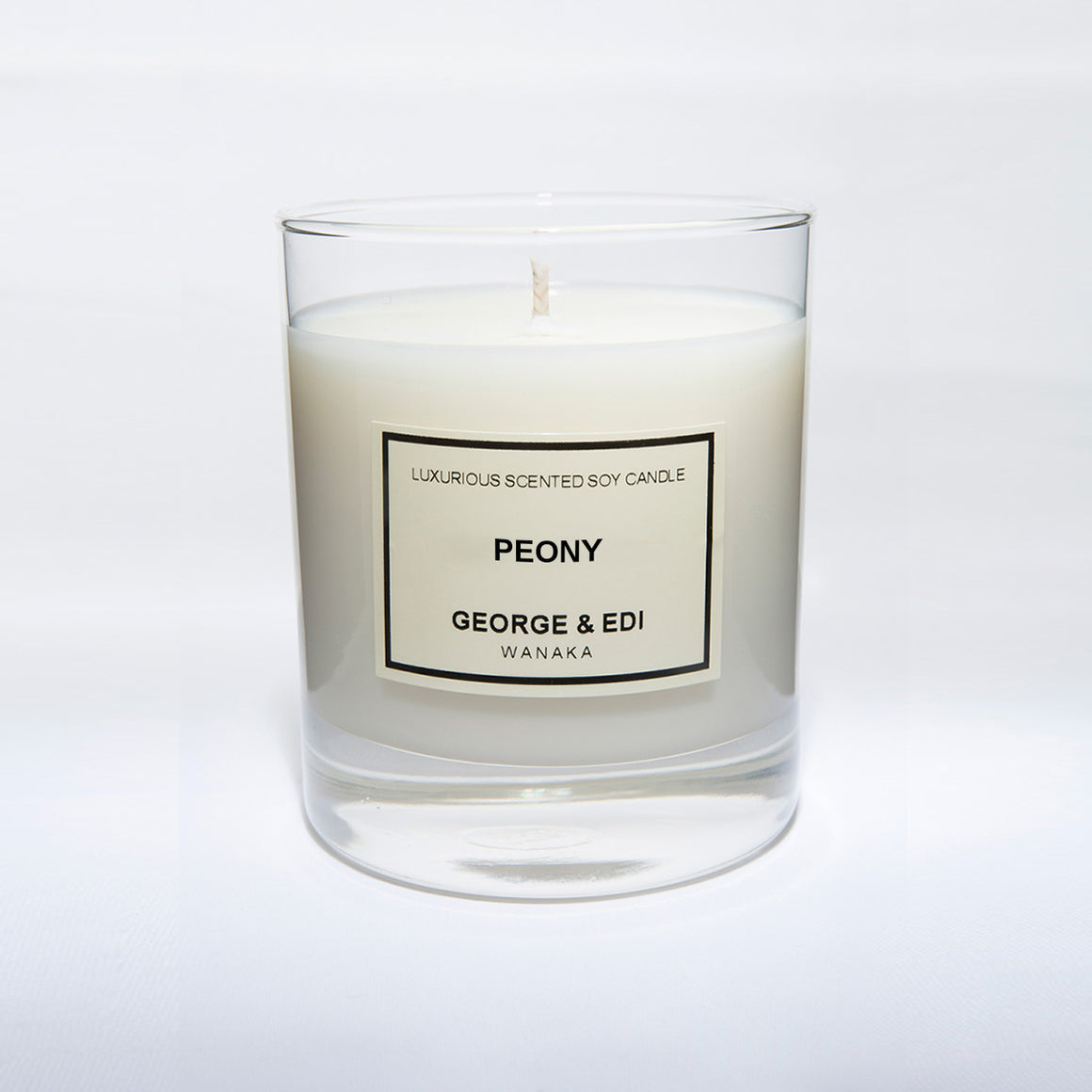 Candle - Peony | Shop George & Edi in store at Wallace and Gibbs