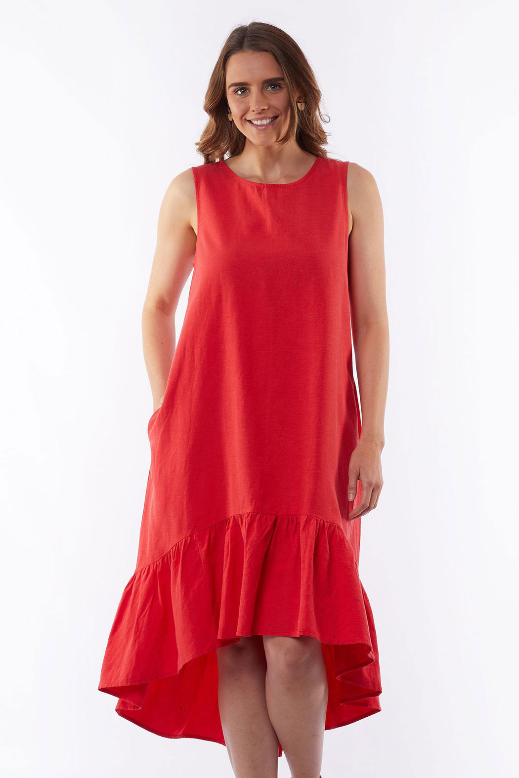 Elm Jasmine Dress - Red | Shop Elm at Wallace & Gibbs NZ