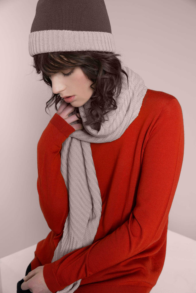 Standard Issue Rib Scarf