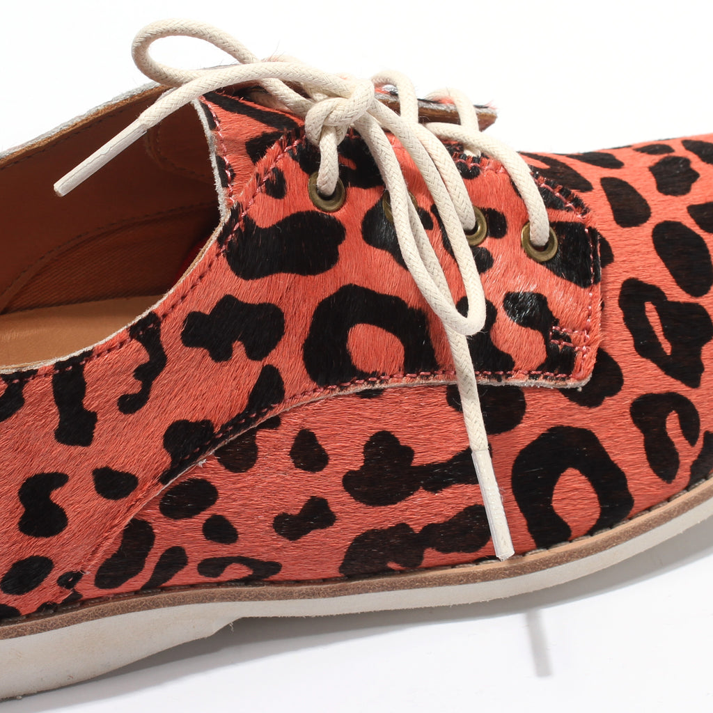 Rollie Derby Coral Leopard | Shop Rollie at Wallace and Gibbs NZ