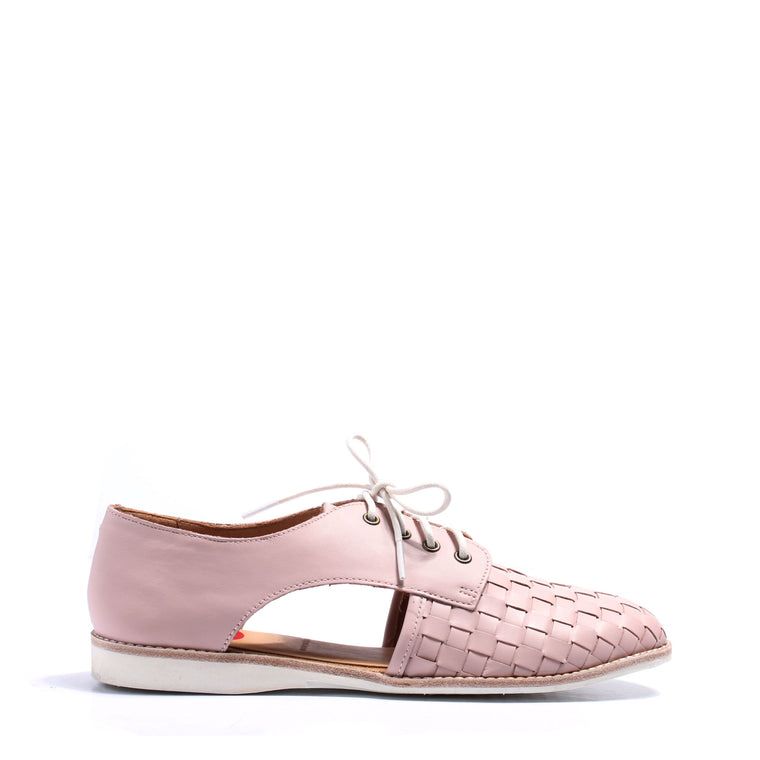 Rollie Sidecut Woven - Snow Pink  | Buy Rollie Shoes Online, NZ
